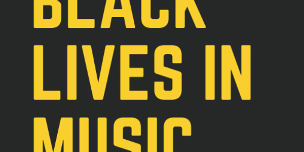 NYCGB Partners with Black Lives in Music